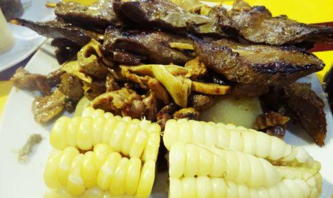 南米, ペルー, ペルー料理, Anticucho, アンティクーチョ