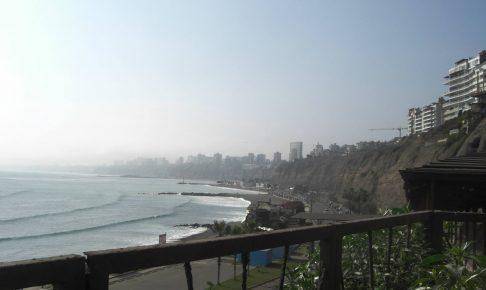 ペルー、リマ、海