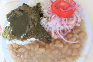 ペルー料理、セコ・デ・カルネ・レス