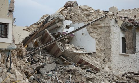 ペルー、地震