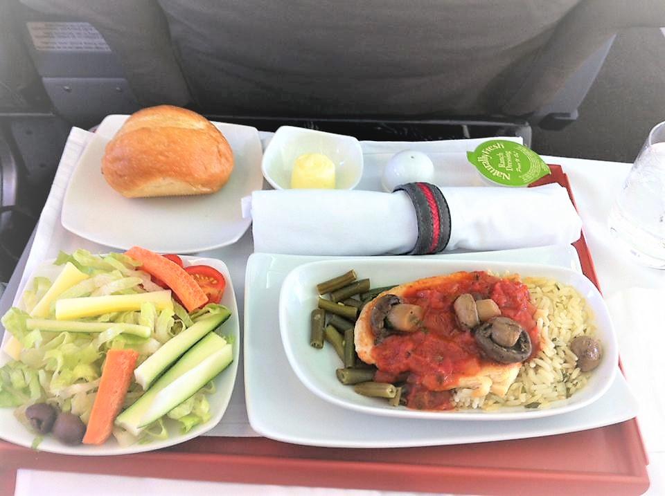 ペルー、ビジネスクラス、旅、食事が最高!