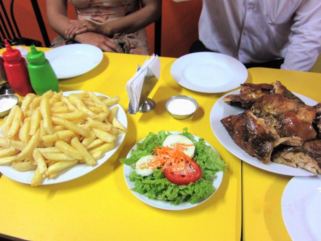 ペルー、料理、ローストチキン