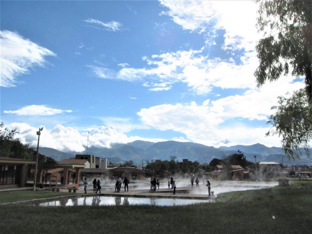 カハマルカ、インカの温泉
