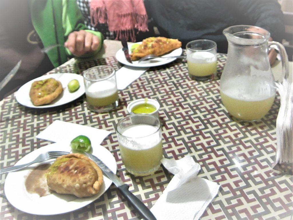 ペルー、チクラヨ、おいしい、アルゼンチン風エンパナーダ