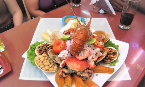 ペルー、チクラヨ、おいしい、セビーチェ