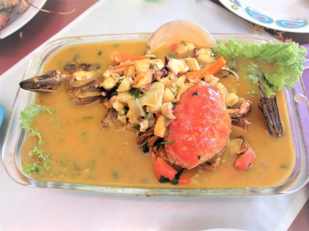 ペルー、チクラヨ、おいしい、パリウエラ