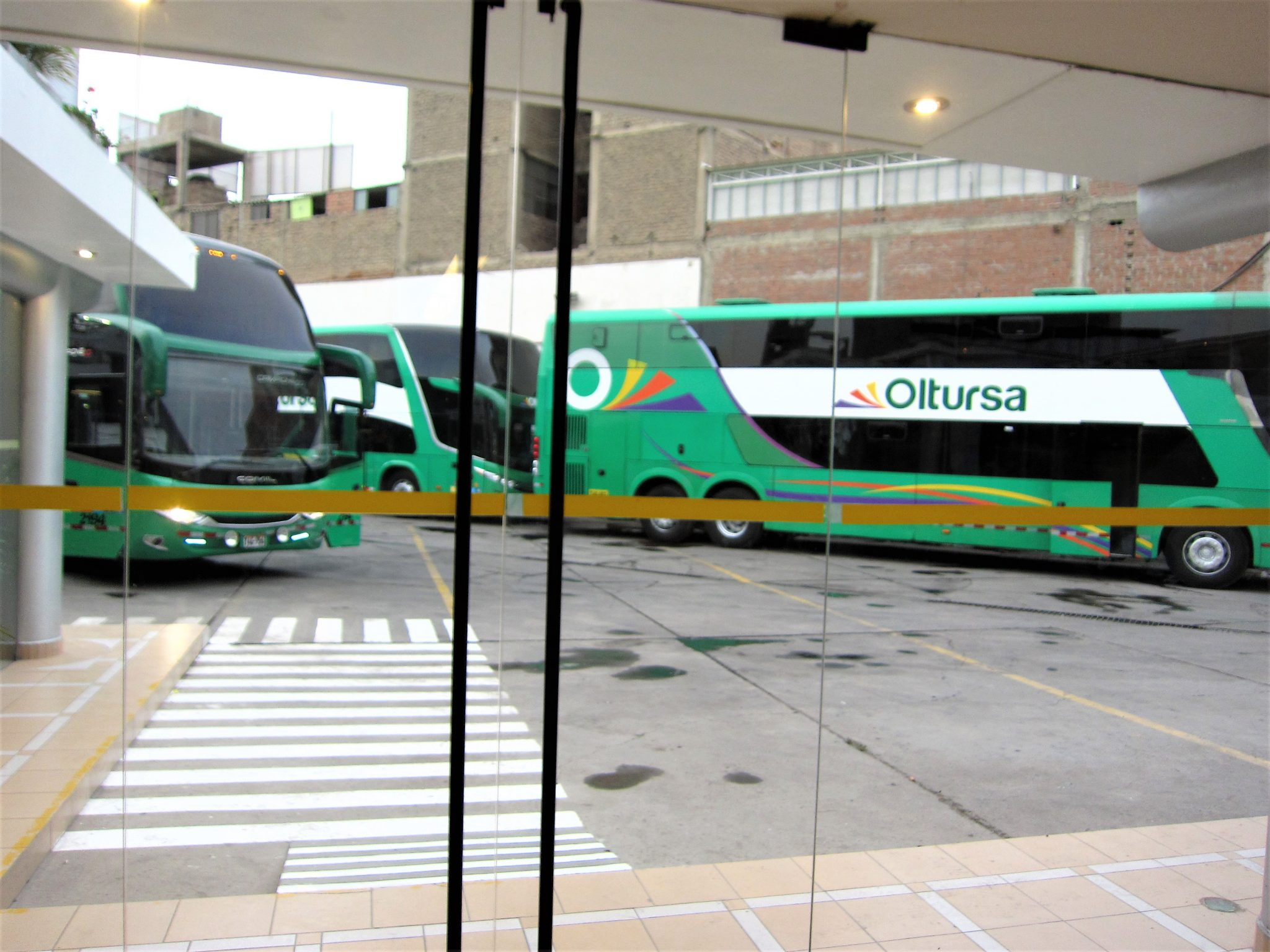 ペルー、高速バス、Oltursa、オルトゥルサ