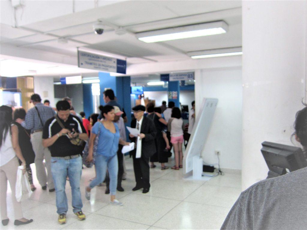 ペルー、リマ、入国管理局、移民局、手続き