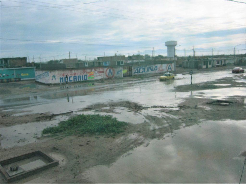 南米、ペルー、我が家、大雨、浸水、洪水