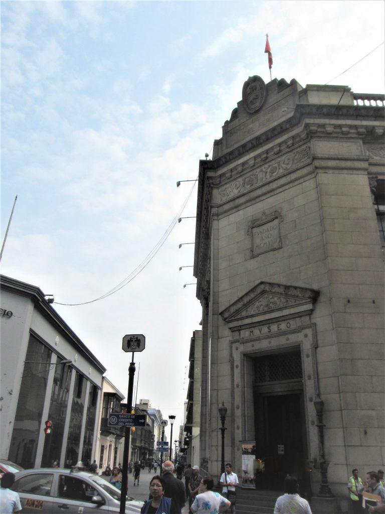 ペルー、リマ、博物館、中央準備銀行