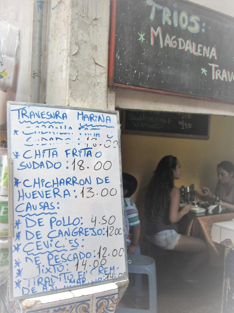 Travesura Marina、トゥラベスーラ・マリーナ、Magdalena del Mar、マグダレーナ・デル・マル、ペルー、リマ、市場