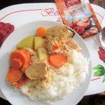 ペルー料理のレシピ Estofado de pollo エストファード・デ・ポヨは、簡単おいしいペルーの家庭料理♪