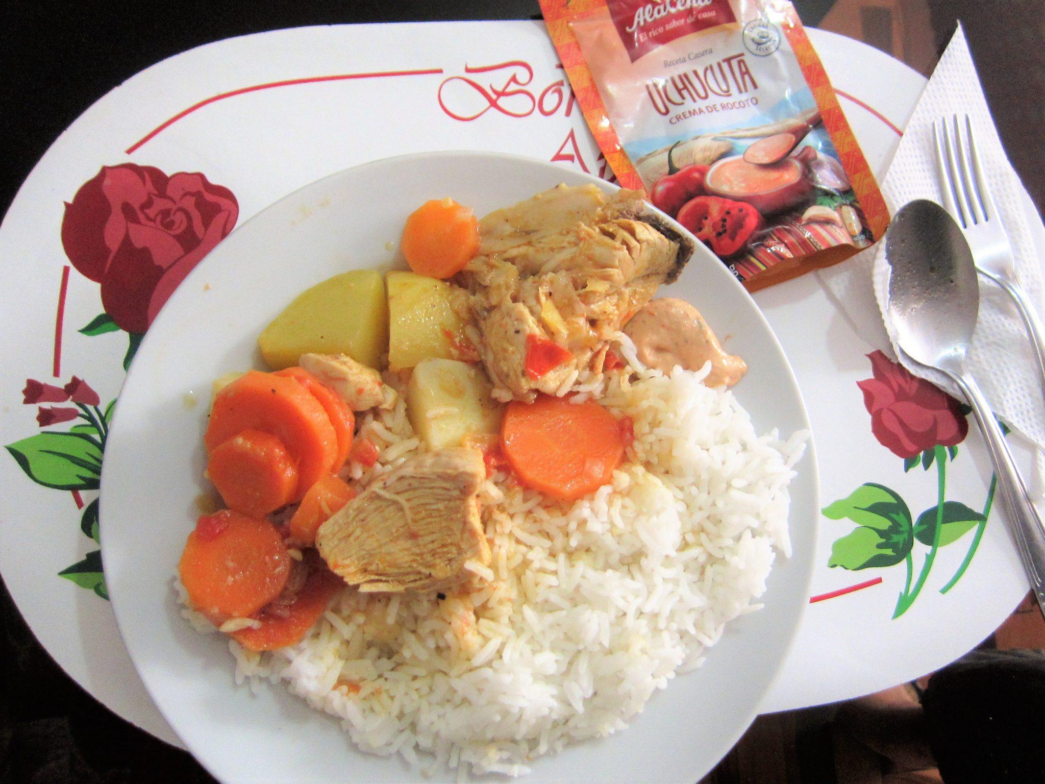 ペルー料理、おいしい