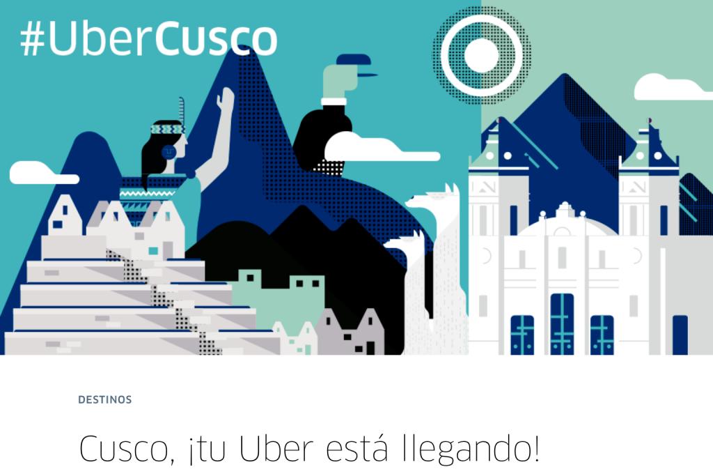 ペルー、クスコ、タクシー、UBER