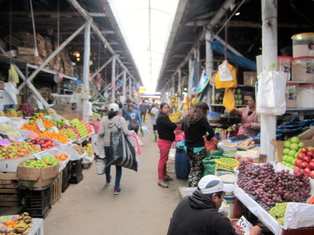 ペルー、クスコ、買い物、食べ物
