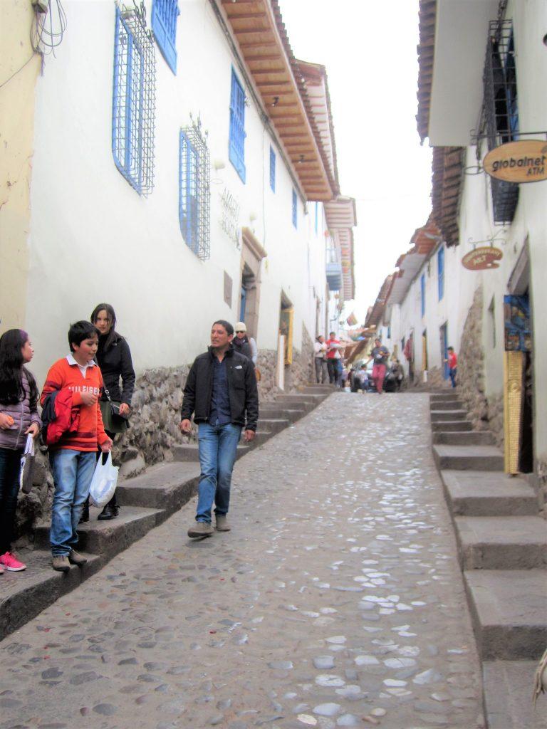 ペルー、クスコ、ハイジ、レストラン