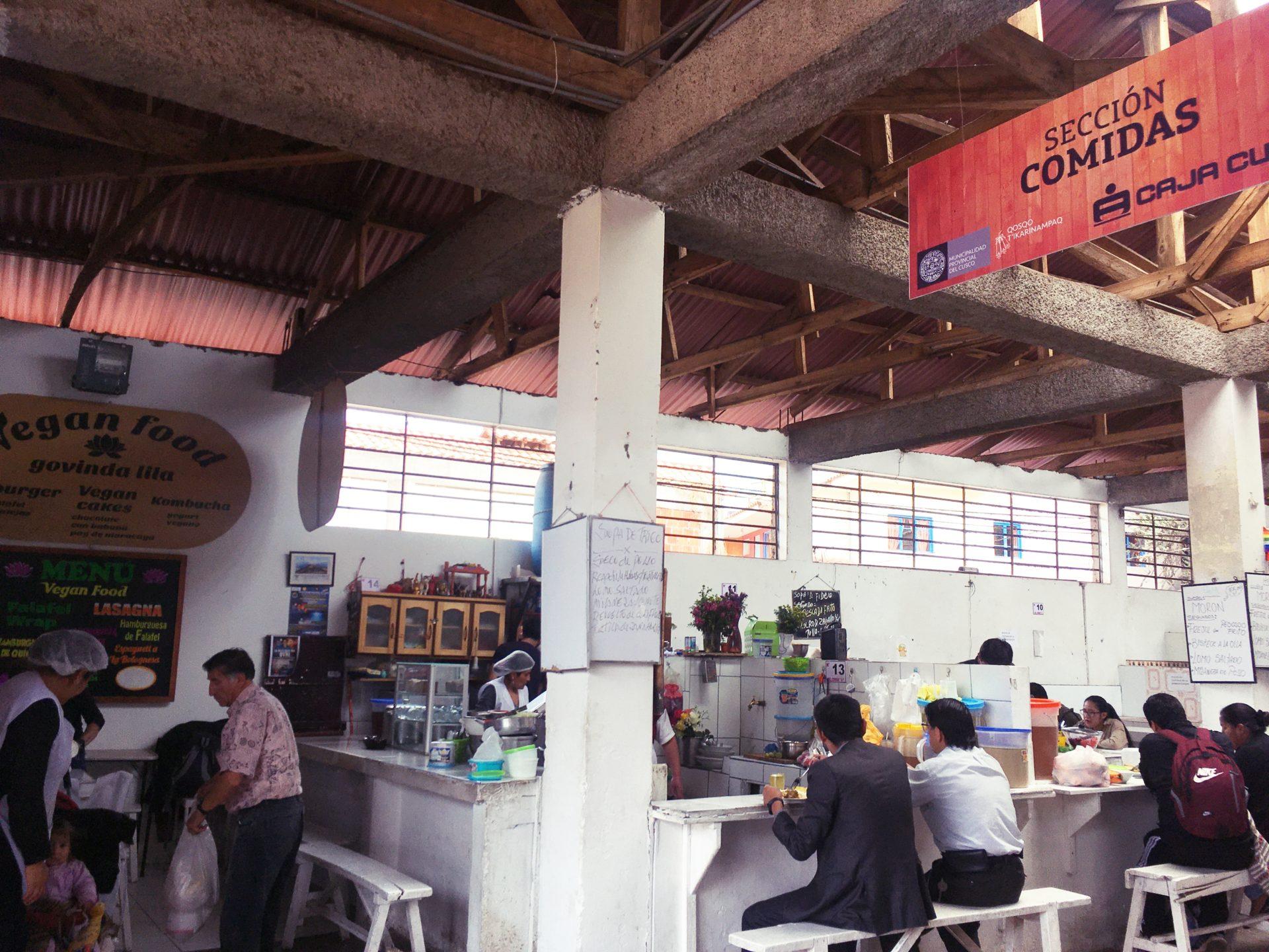 クスコ, Cusco, サンブラス, San Blas, 市場, ヴィーガン料理, Vegan