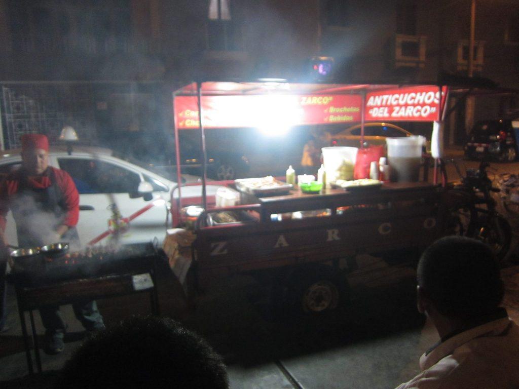 ペルー料理、トルヒージョ、アンティクーチョ