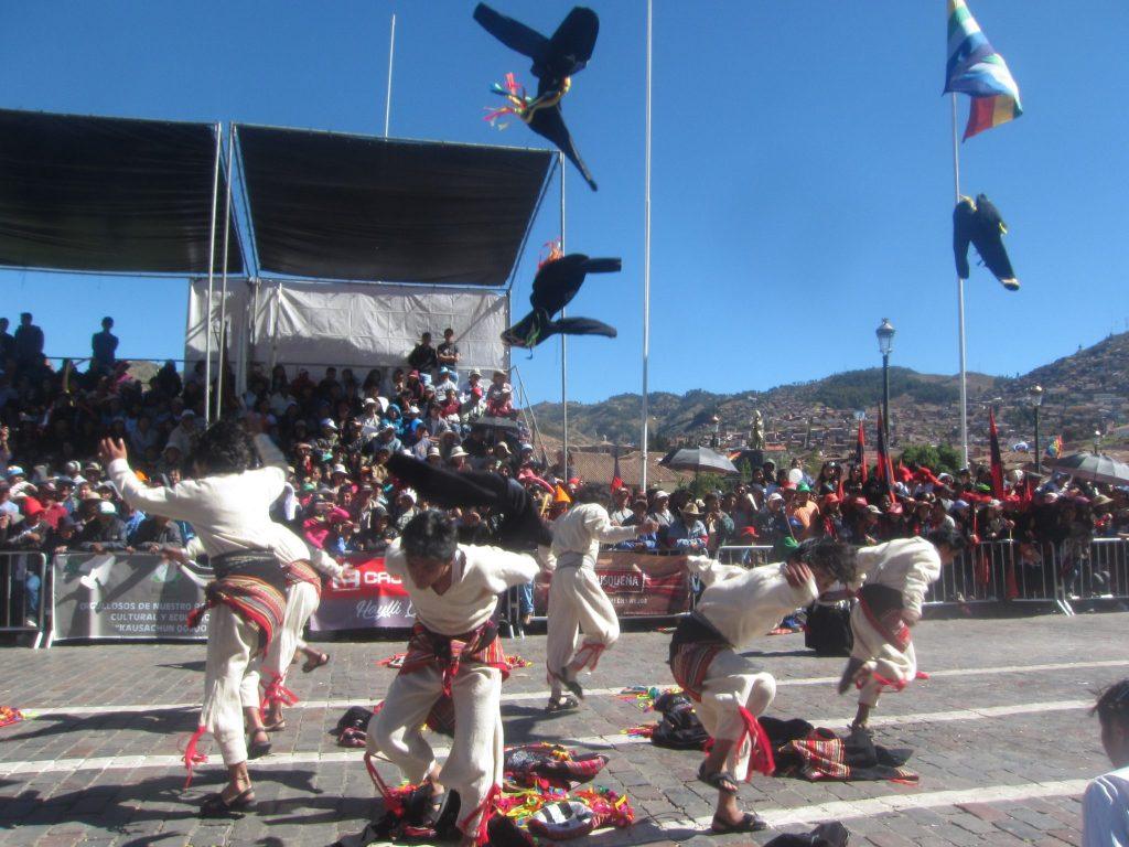 ペルー、クスコ、ダンス、インティライミ
