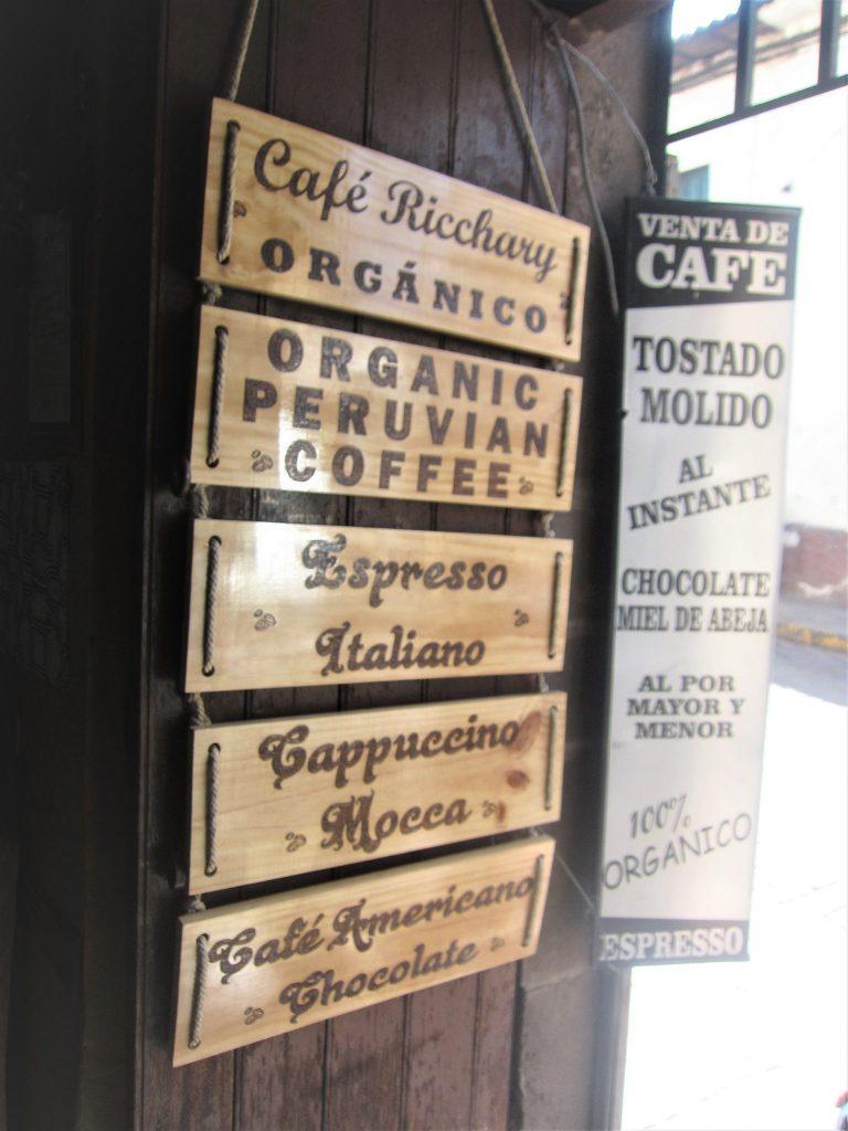 ペルー、クスコ、おいしい、コーヒー