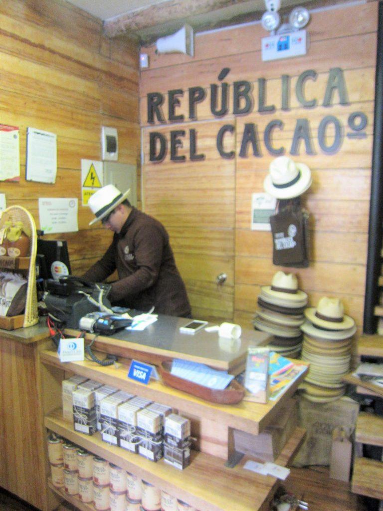 ペルー、クスコ、おいしい、チョコ、ハット
