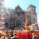 6月24日は、クスコ最大の祭り!インカ・インティライミ・太陽の祭り!ものすごい人!