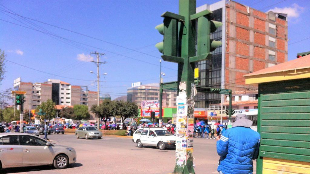 クスコ、暴動、ストライキ