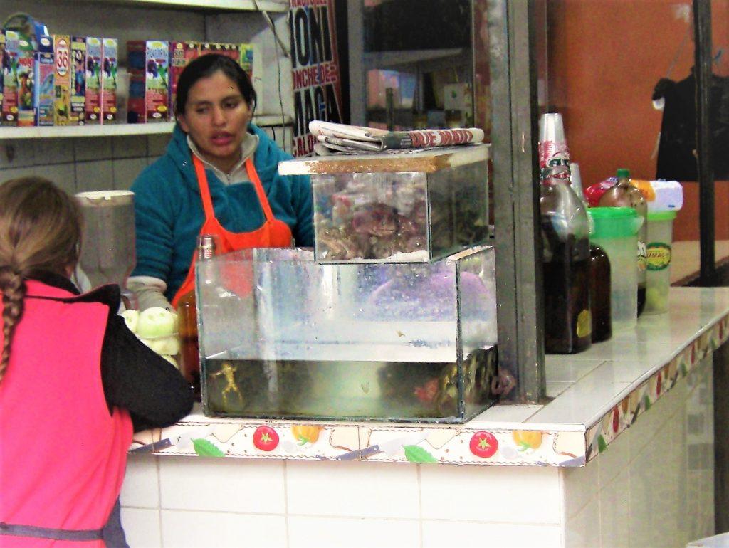リマ、市場、買い物
