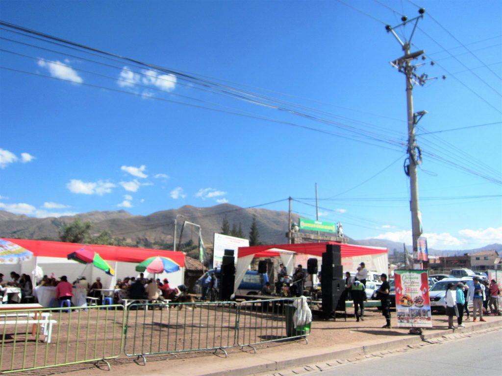 ペルー、クスコ、フェスティバル、ペルー料理