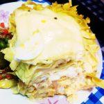ペルー料理 Tallarines al Horno タヤリン アル オルノのレシピ!クスコの人が好きなペルー料理!まるで、グラタン