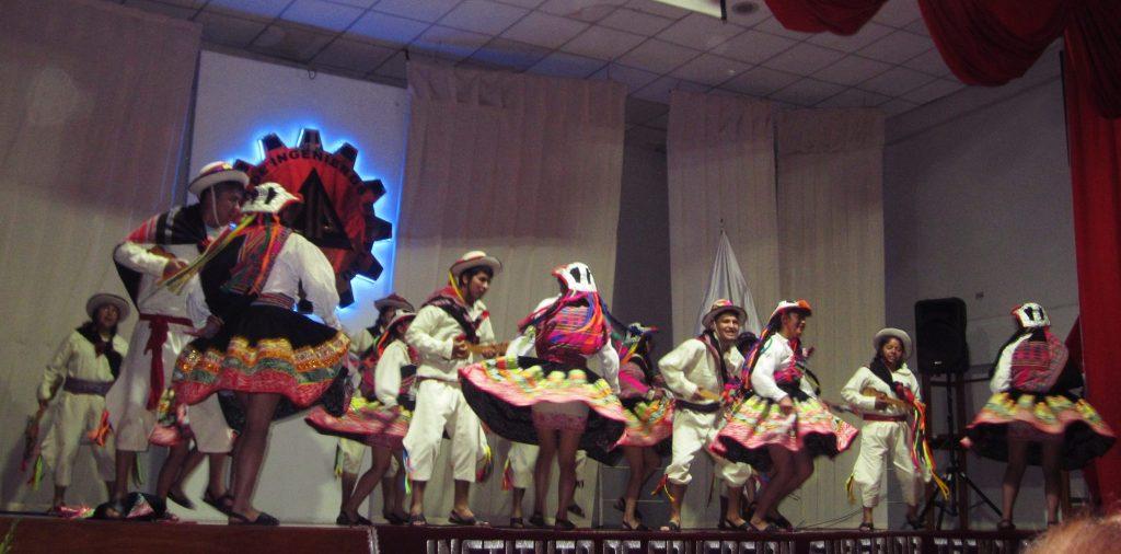 ペルー、ダンス、踊り、学校、海外生活