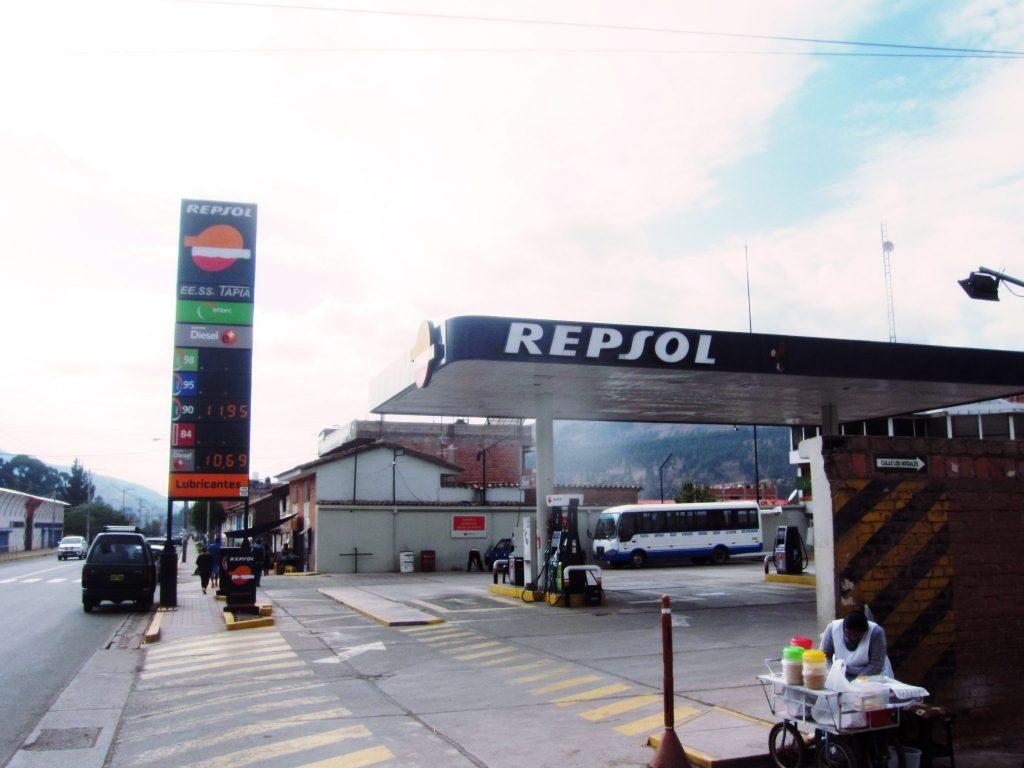 ペルー、海外生活、ガソリン、値段