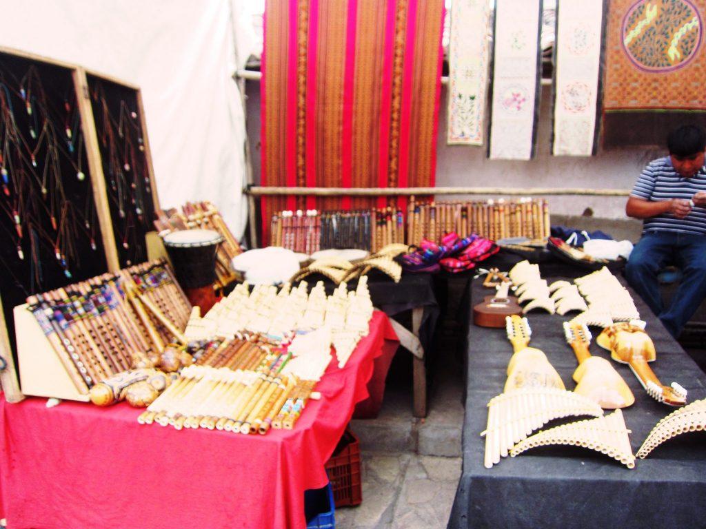ペルー, 楽器