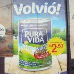 ペルーで海外生活!アンビリーバボー!牛乳王手メーカーが純粋な牛乳を売っていないことがばれるもすぐに復活!PURA VIDA