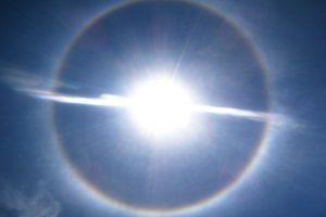 ペルー、クスコ、自然現象、虹、ハロ
