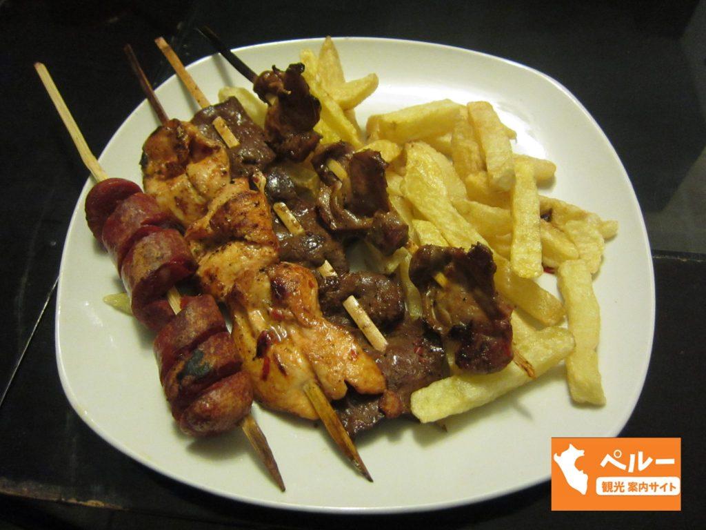 ペルー、カハマルカ、おいしい、ペルー料理、レストラン、アンティクーチョ