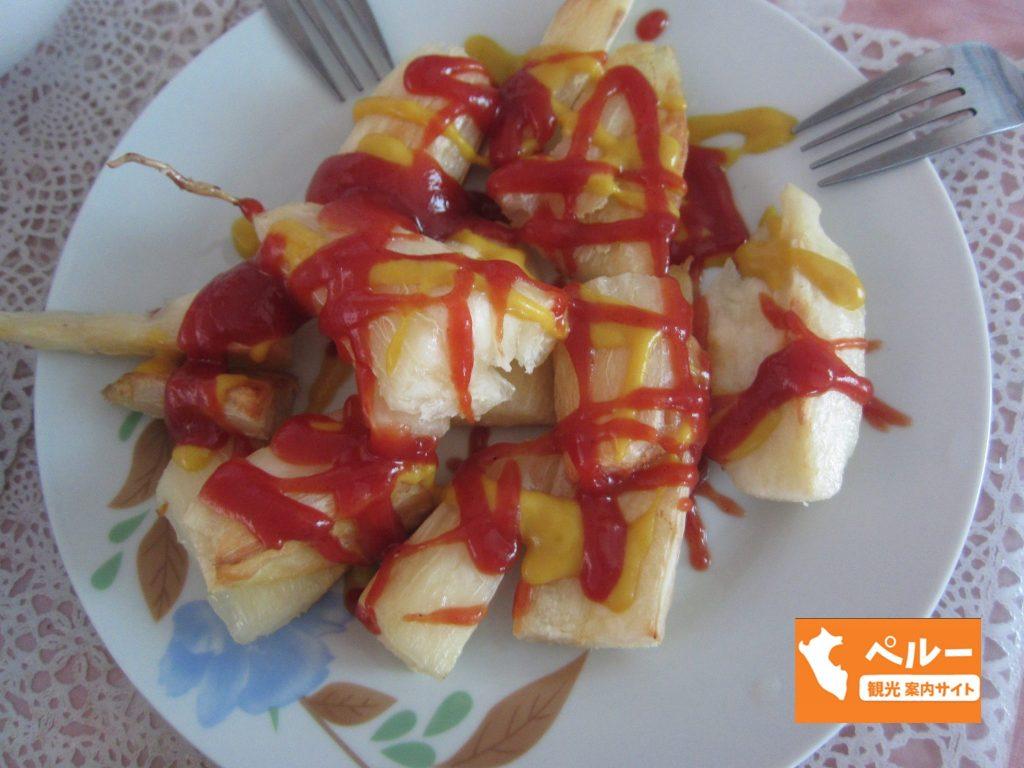 南米, ペルー, Yuca, キャッサバ芋, スーパーフード