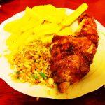 ペルー・クスコのおいしい & お安い Pollo a la Brasa ポヨ・ア・ラ・ブラサ (ローストチキン) レストラン!セットメニューがお得!