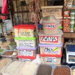 ペルー、市場、食品