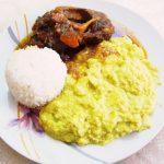 ペルー料理アウテンティコ・タルウィーとエストファード・カヌートのレシピ!クスコで食べれるペルー料理 Auténtico Tarwi con estofado Canuto (osochobuco)