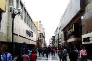 ペルー、リマ、観光スポット、ラ・ウニオン通り