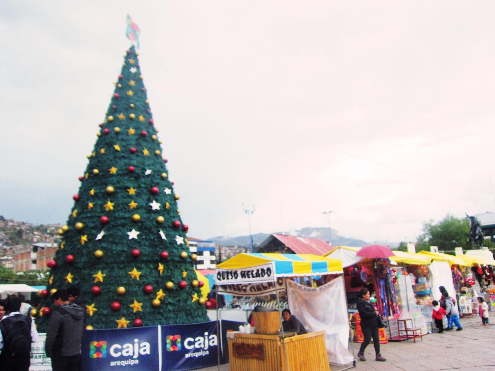 ペルー、クスコ、クリスマス、クリスマス商戦