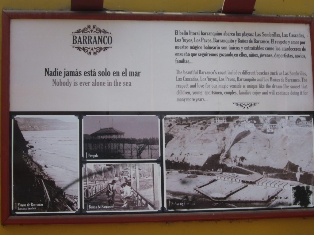 ペルー、リマ、観光スポット、バランコ、Barranco