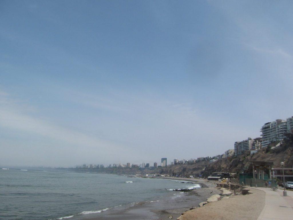 ペルー、リマ、観光スポット、バランコ、Barranco、ビーチ
