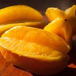 南米ペルーの一般的な果物スターフルーツのジュースのレシピ♪スターフルーツは体にとても良い!Carambola