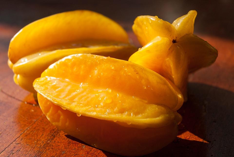 ペルー、クスコ、フルーツ、果物、スターフルーツ