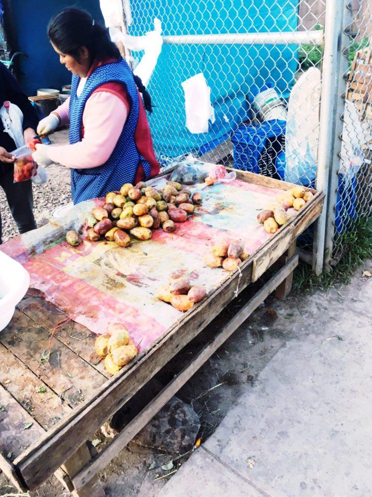 ペルー、メキシコ、サボテン、ウチワサボテン、Tuna、フルーツ、健康、食べ物、おいしい