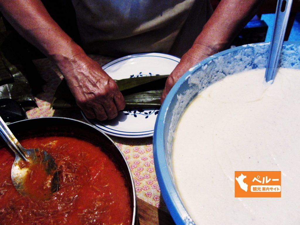 ペルー、とうもろこし、メキシコ料理、Tamal