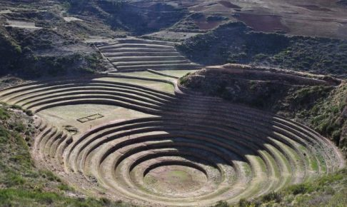 ペルー、クスコ、観光スポット、遺跡、聖なる谷、Moray