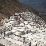 ペルー・クスコ聖なる谷観光スポット、マラスの塩田ピンクソルトはお土産に Salineras de Maras